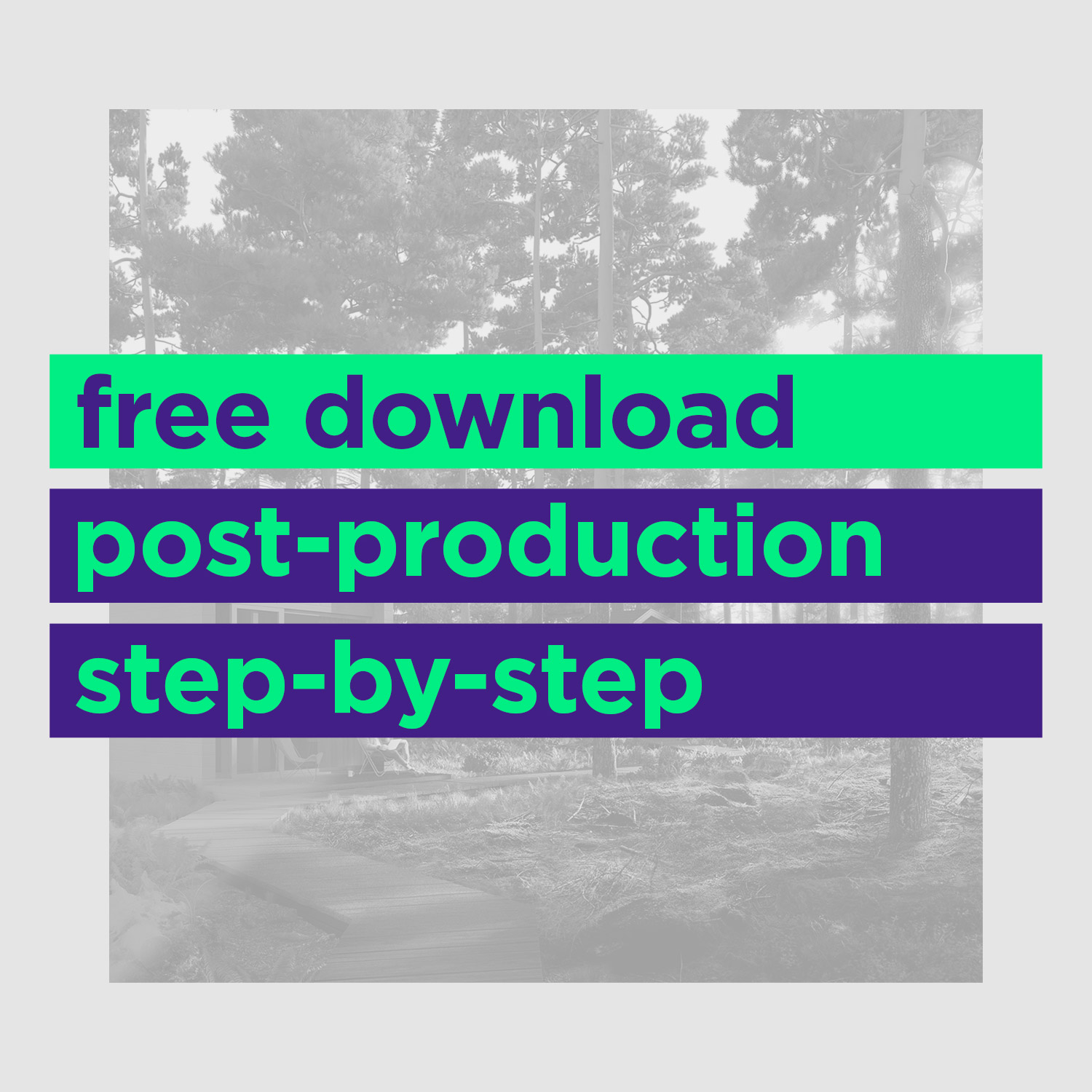 kaiserbold free step by step postproduction workflow for architectural visualization